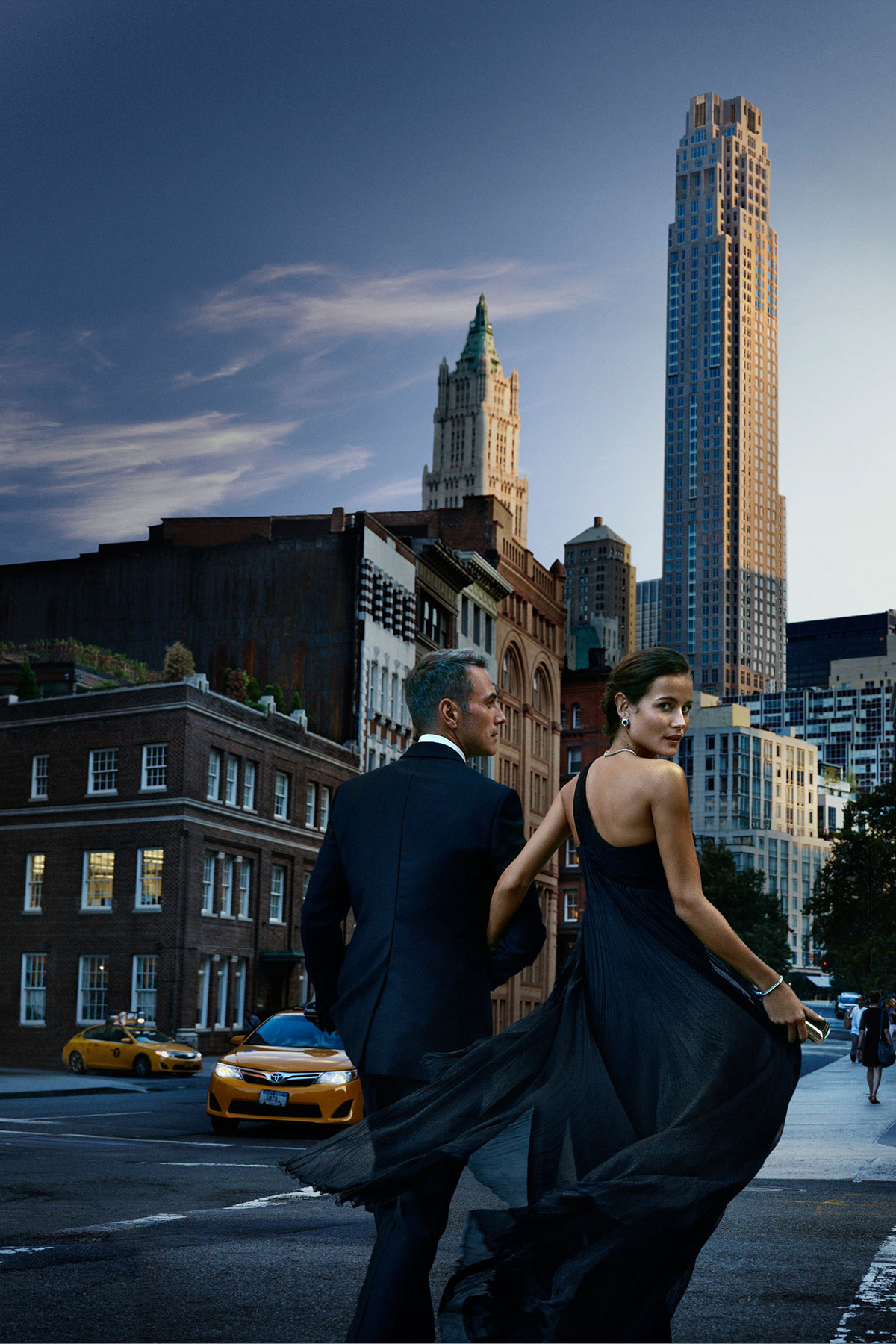 Campaign Art Direction for 30 Park Place by The Four Seasons