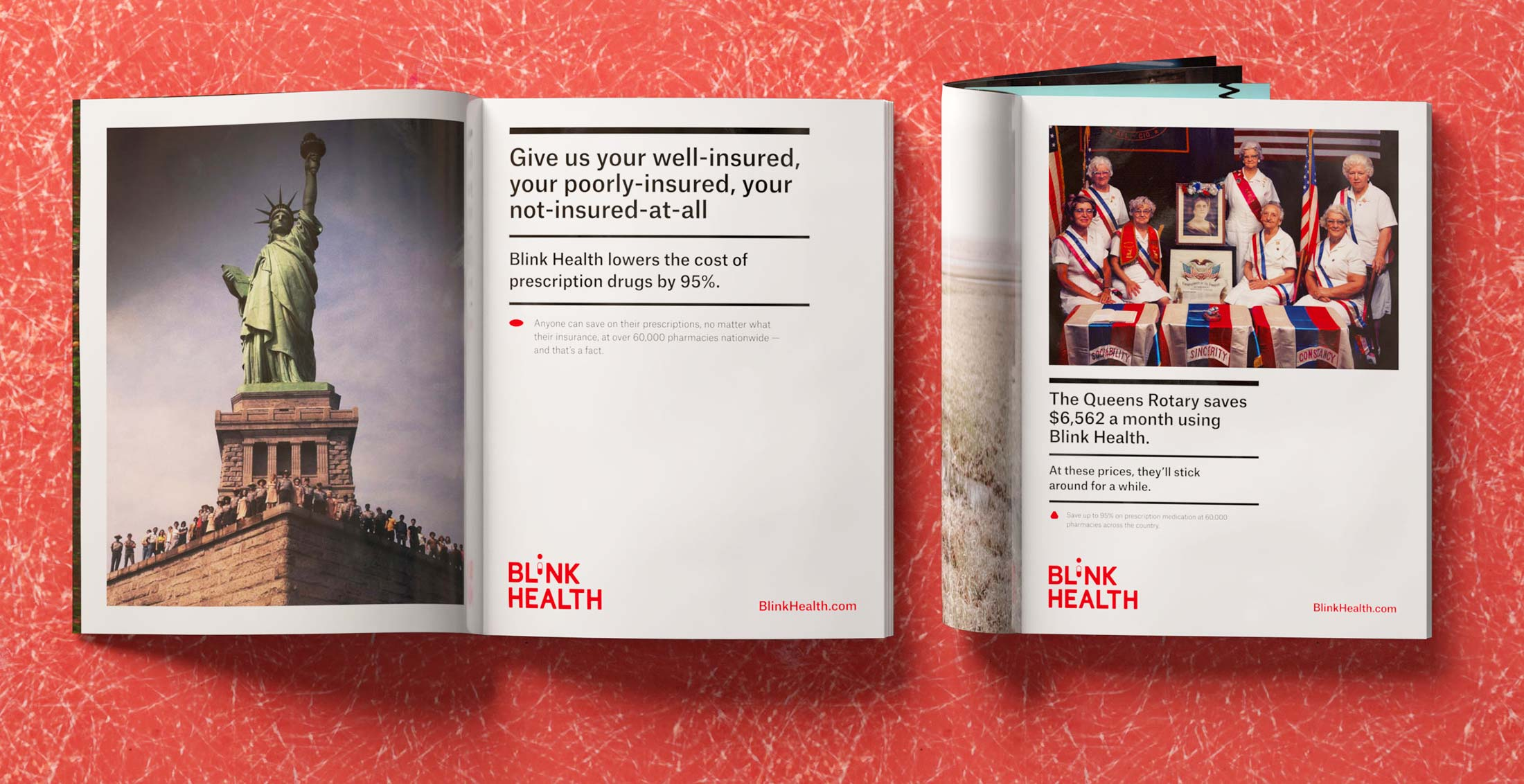 Advertising Campaign and Graphic Design for Blink Health