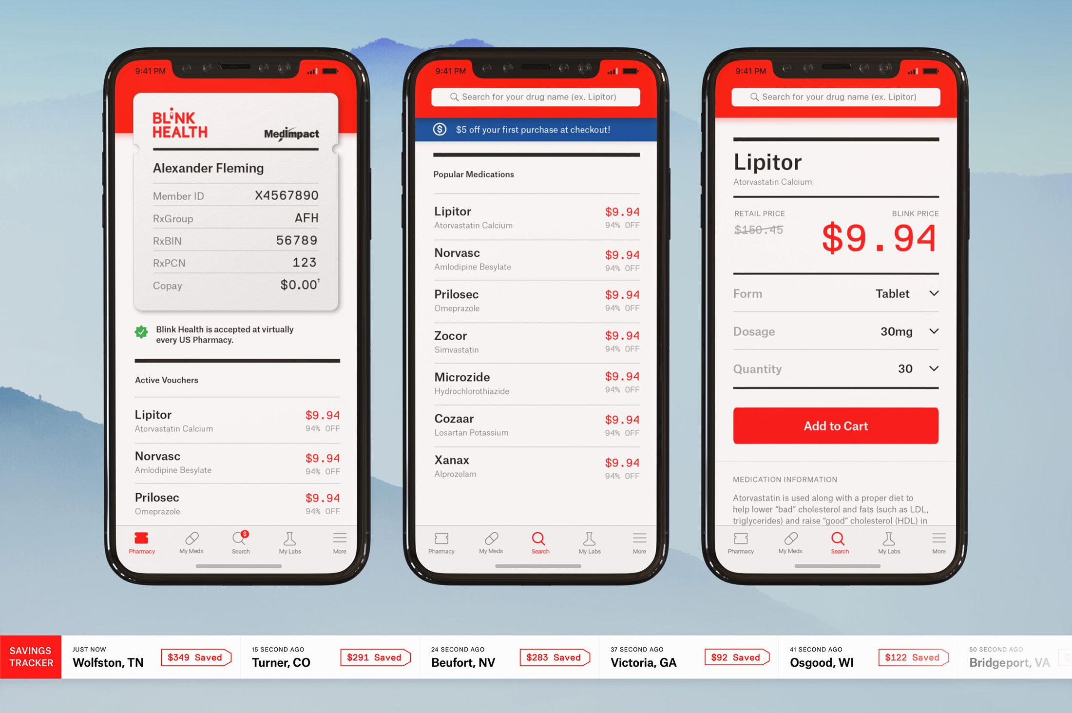 App Design for Blink Health