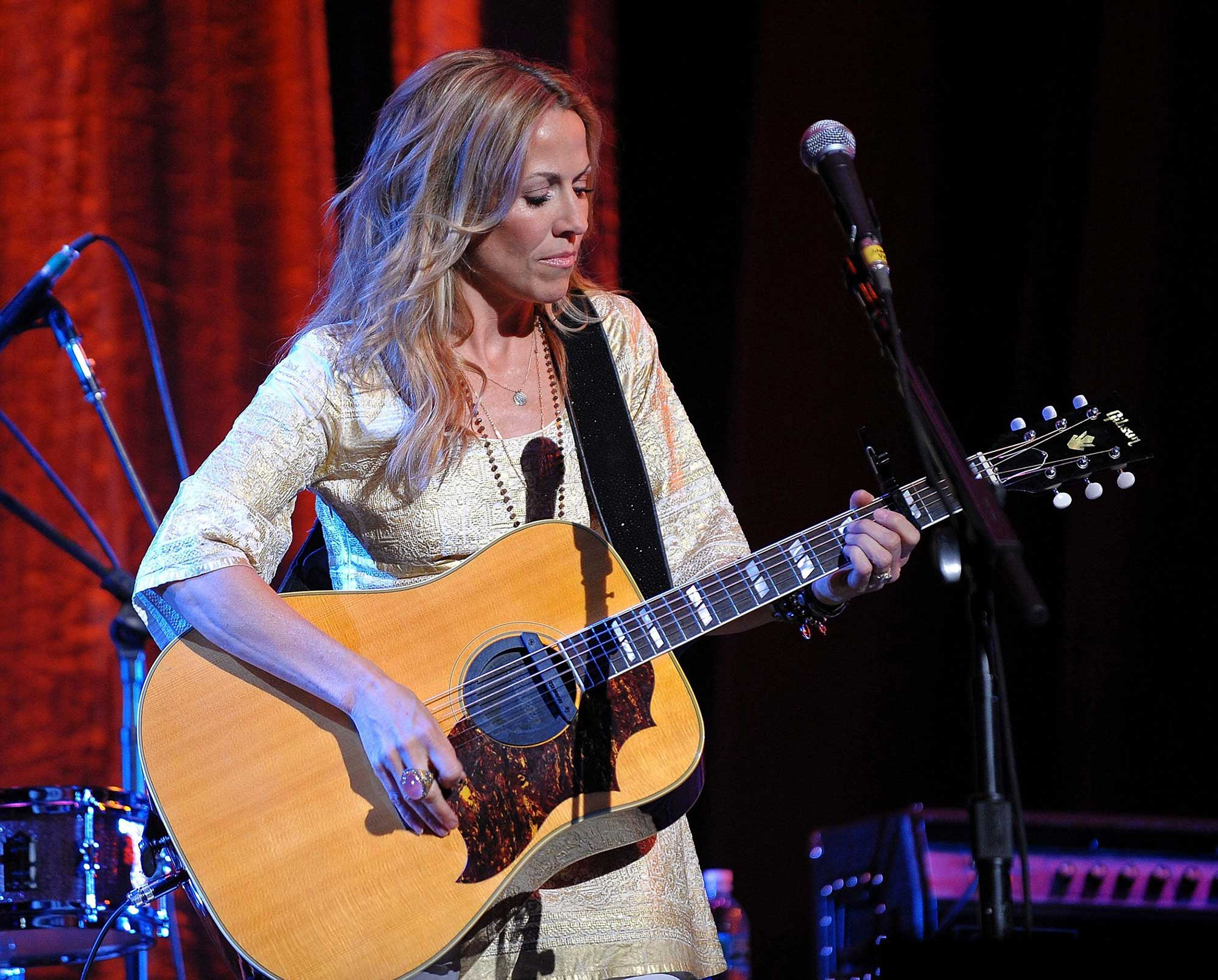 Sheryl Crow Performs at a David Lynch Foundation Event