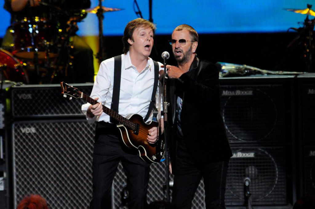 Paul McCartney and Ringo Starr Perform at a David Lynch Foundation Event