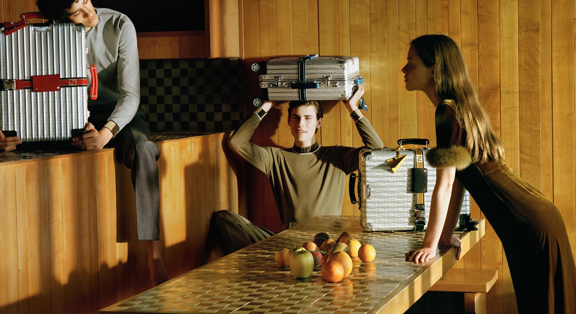 Fendi Campaign Image