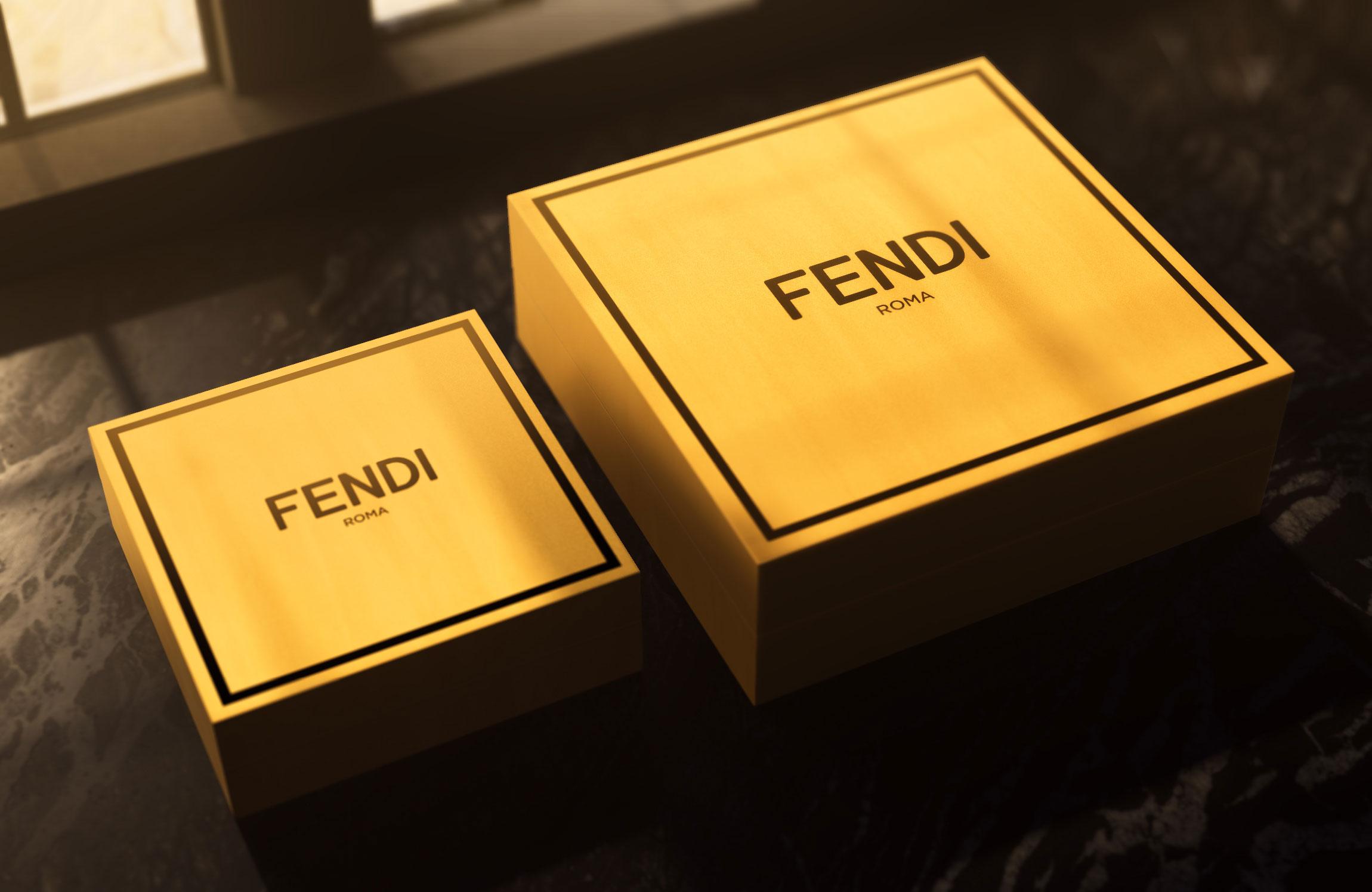 Fendi Packaging Design by George & Elaine