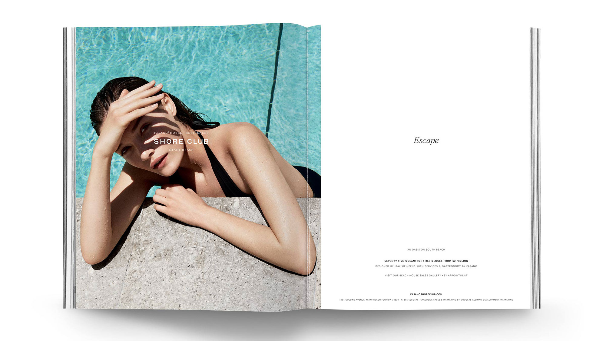 Advertising Campaign for The Shore Club