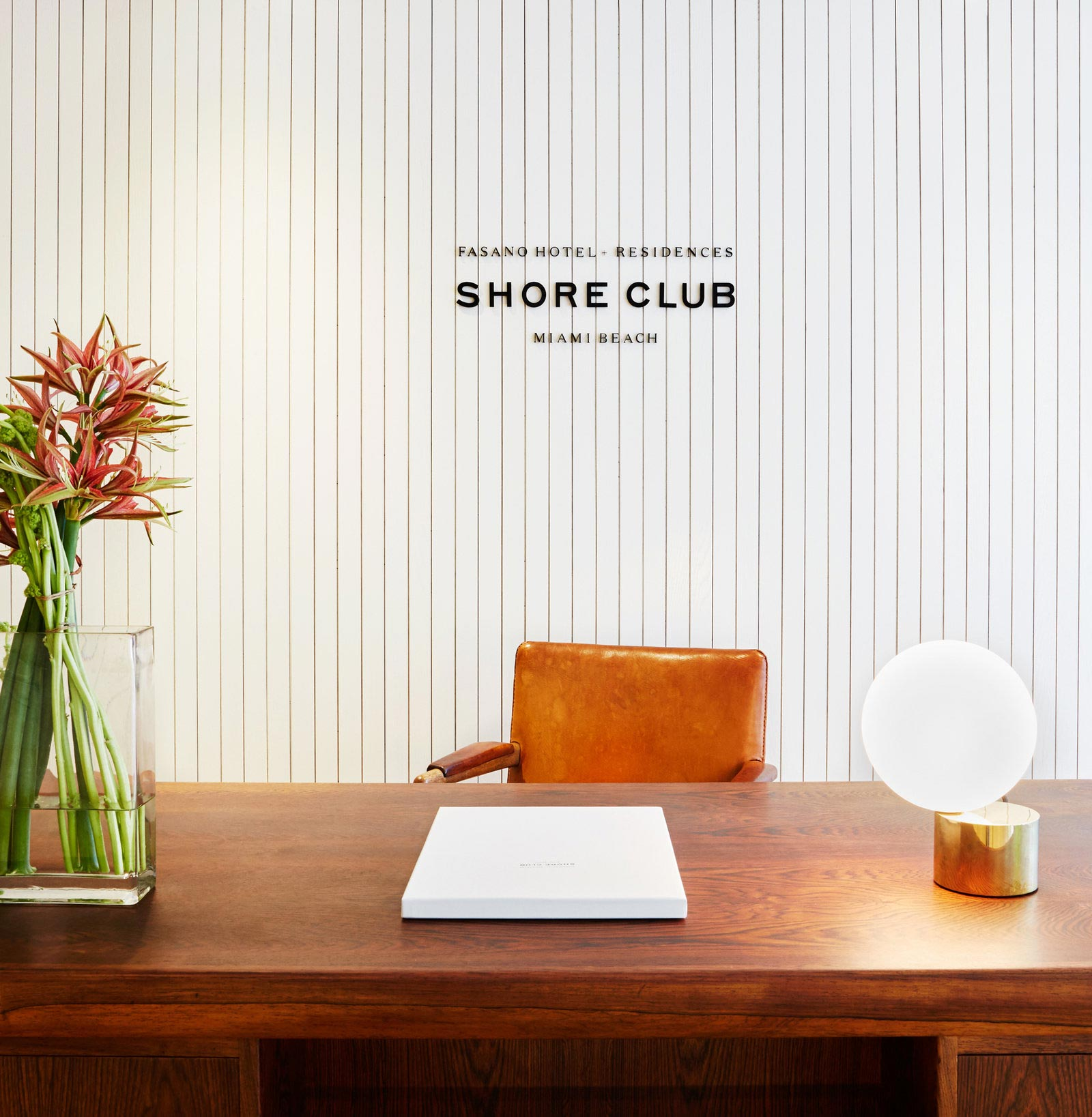 Environmental Design of The Shore Club Sales Lounge