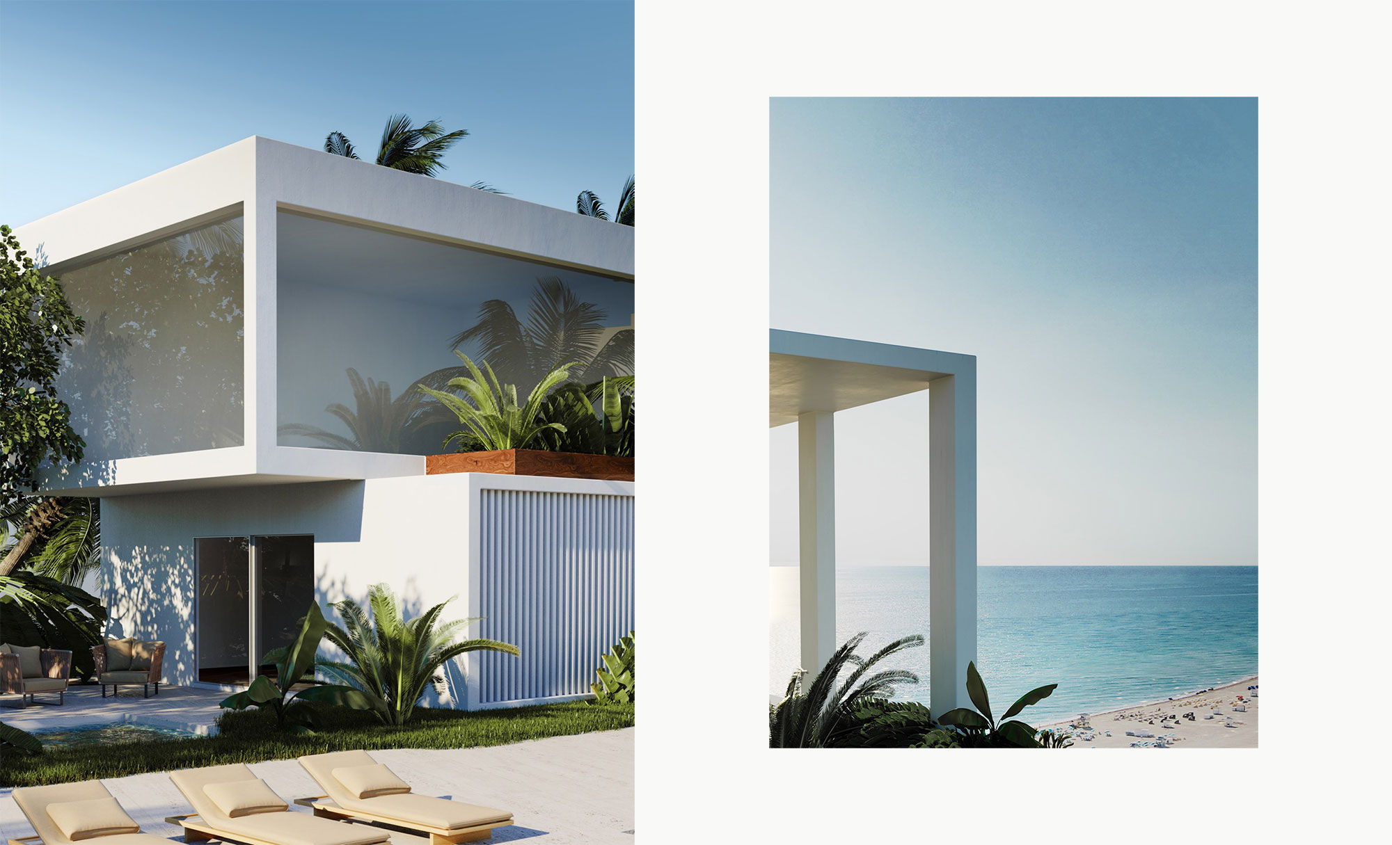 3D Rendering Art Direction for The Shore Club