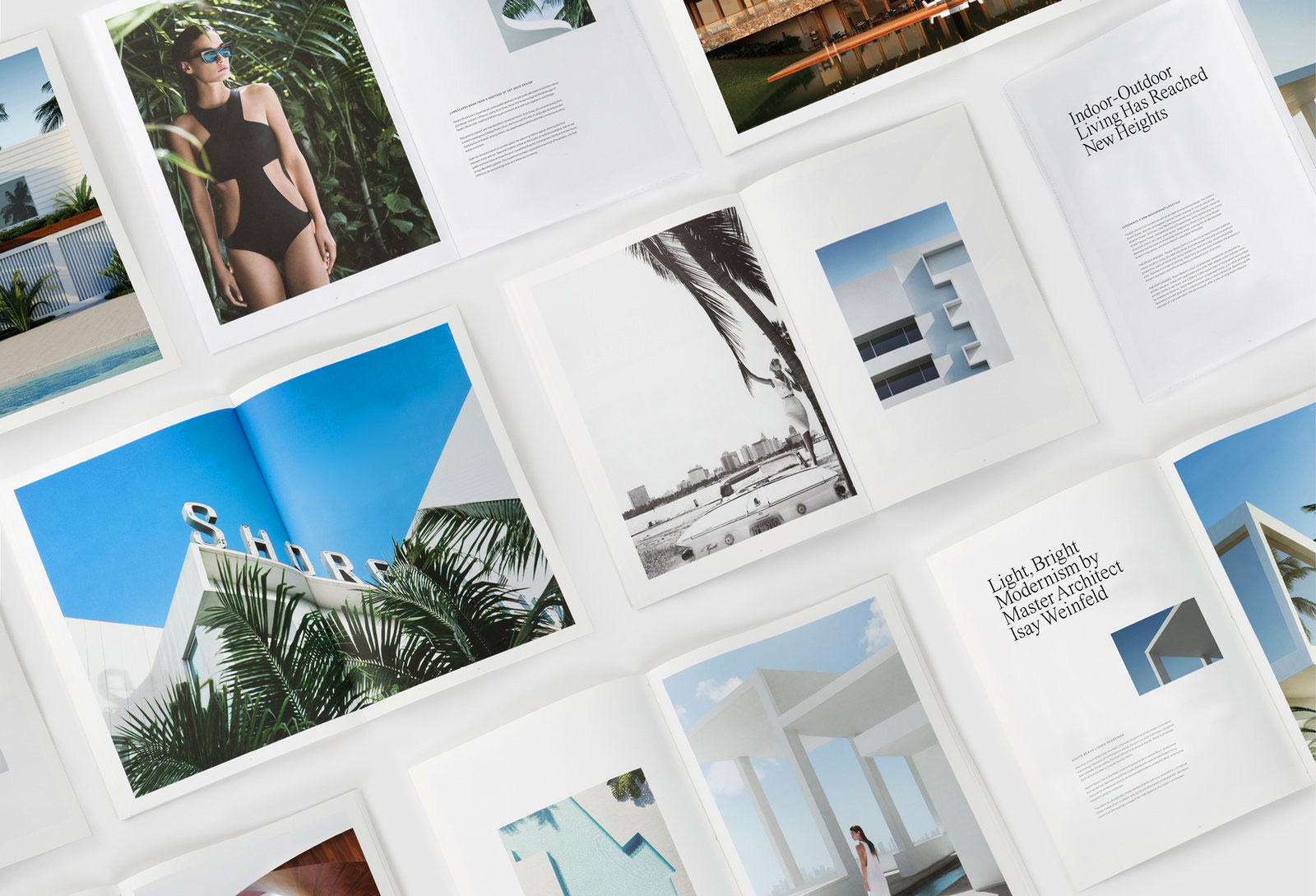 Collateral, Identity, and Campaign Design for The Shore Club