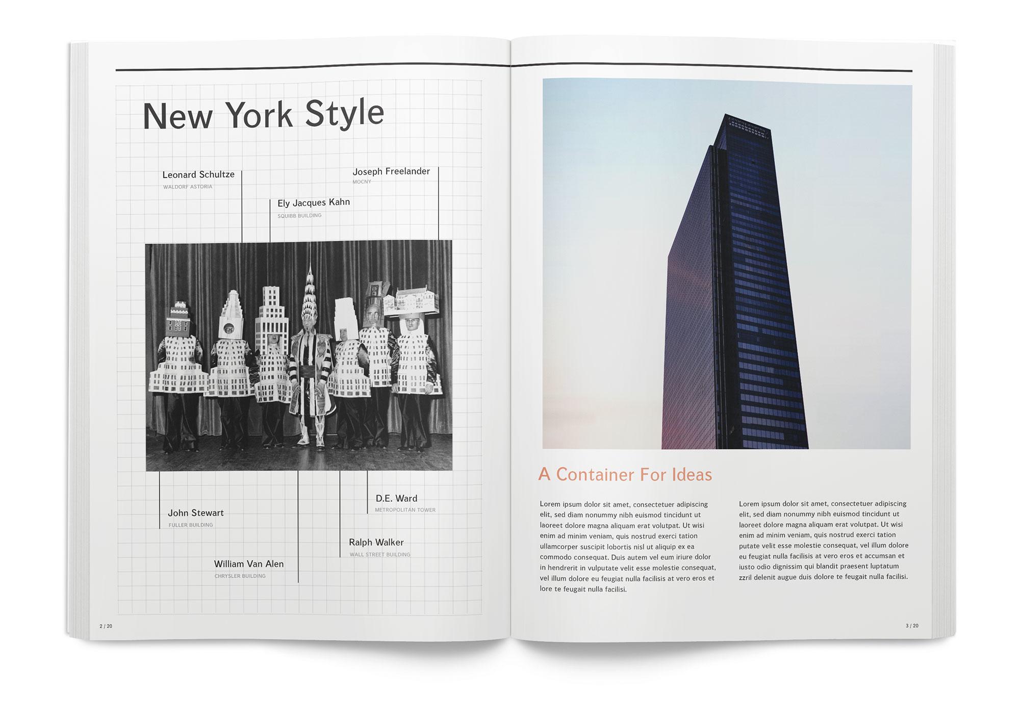 Brochure Graphic Design for One Penn Plaza