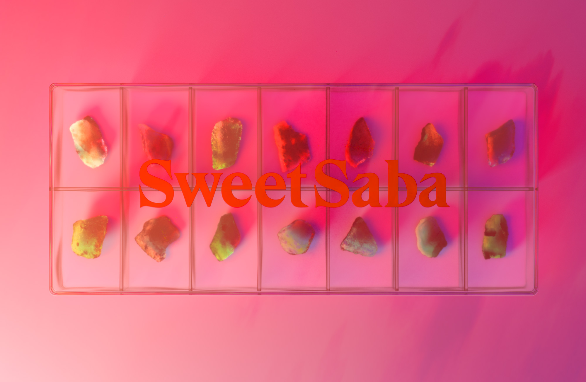 Identity Design for Sweet Saba by Maayan Zilberman