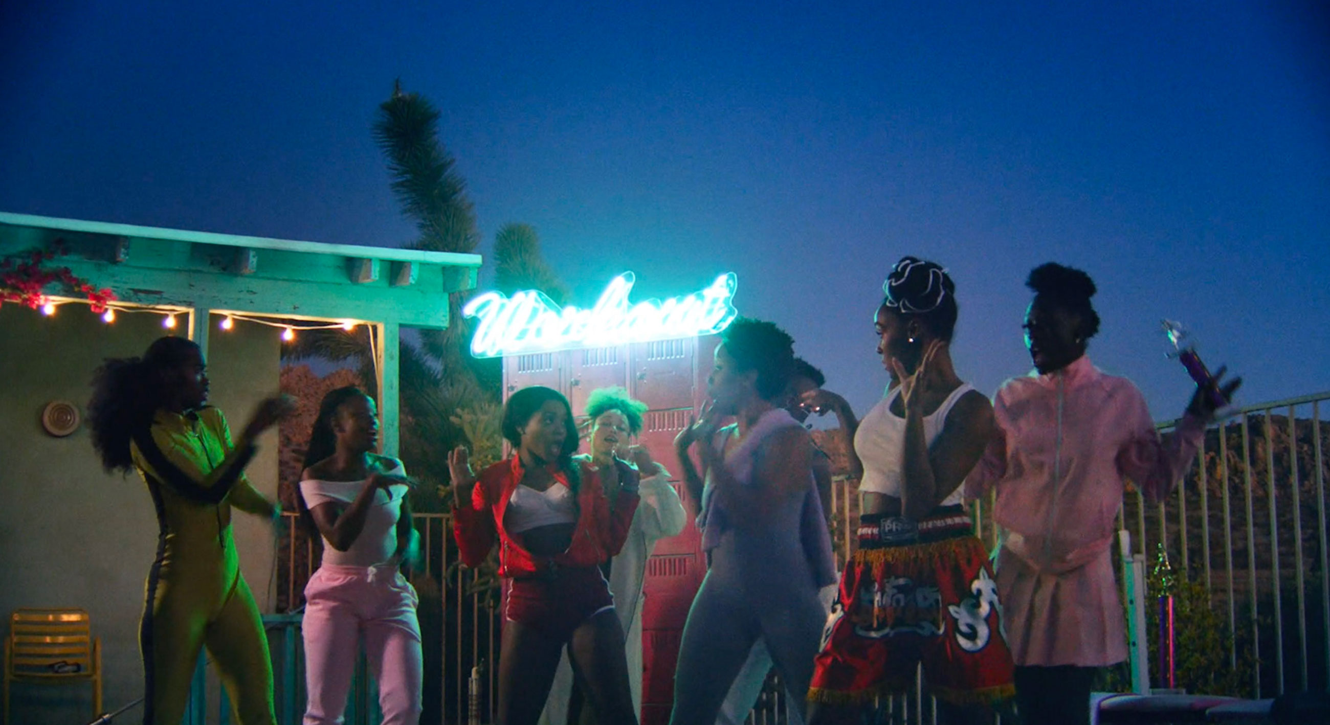 Still from Janelle Monae's PYNK Music Video