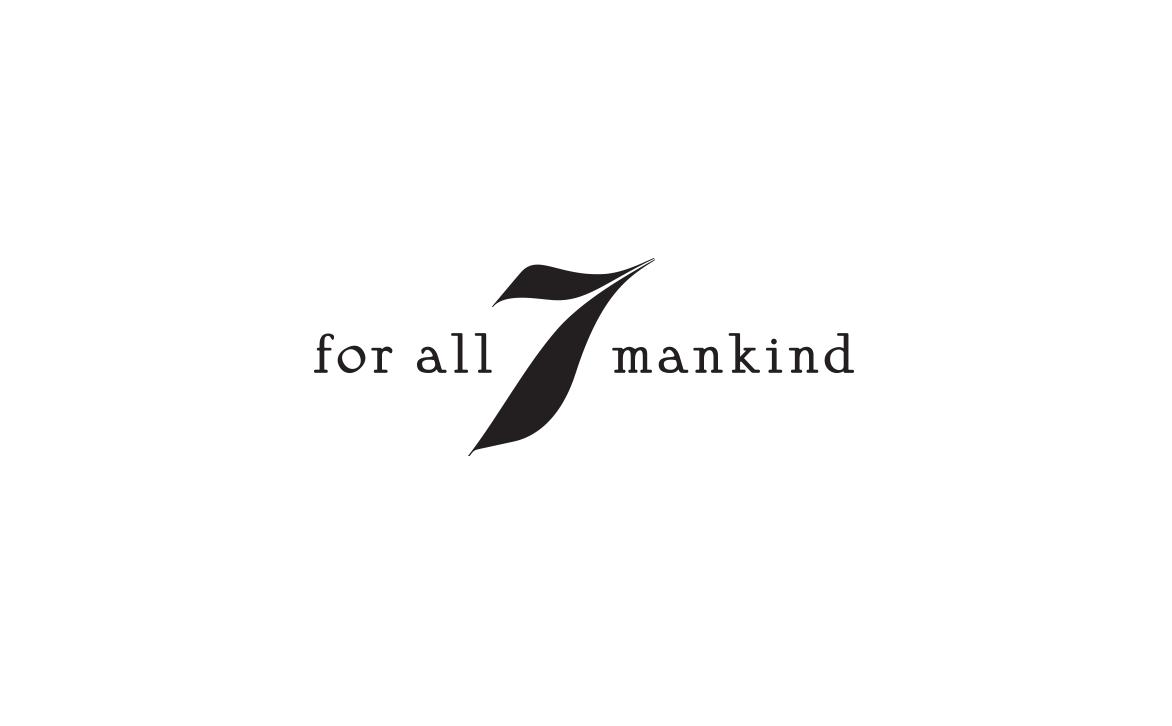 Logo Design for Apparel Brand 7 For All Mankind