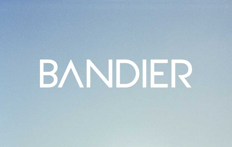 Identity design for Apparel brand Bandier