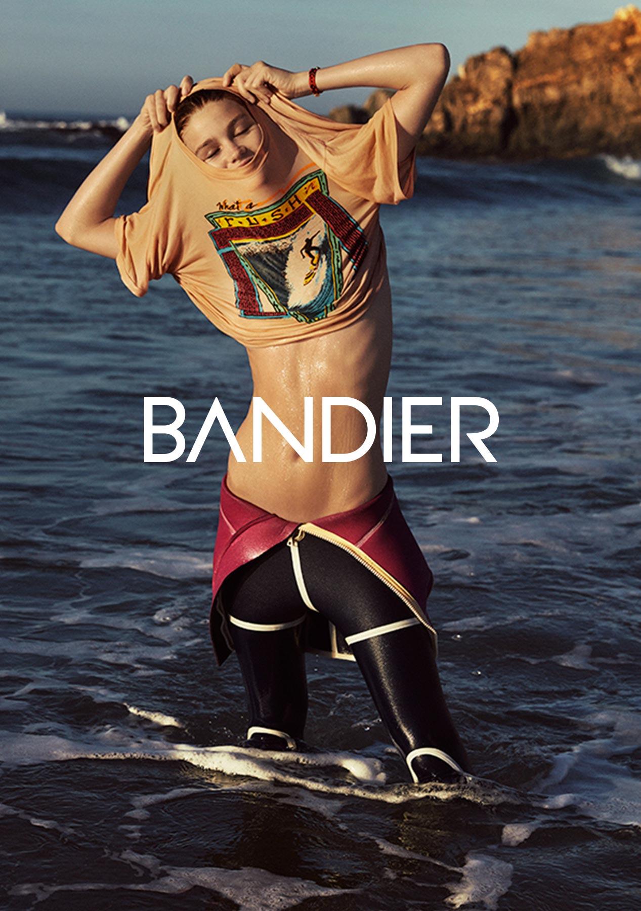 Identity design for Apparel brand Bandier