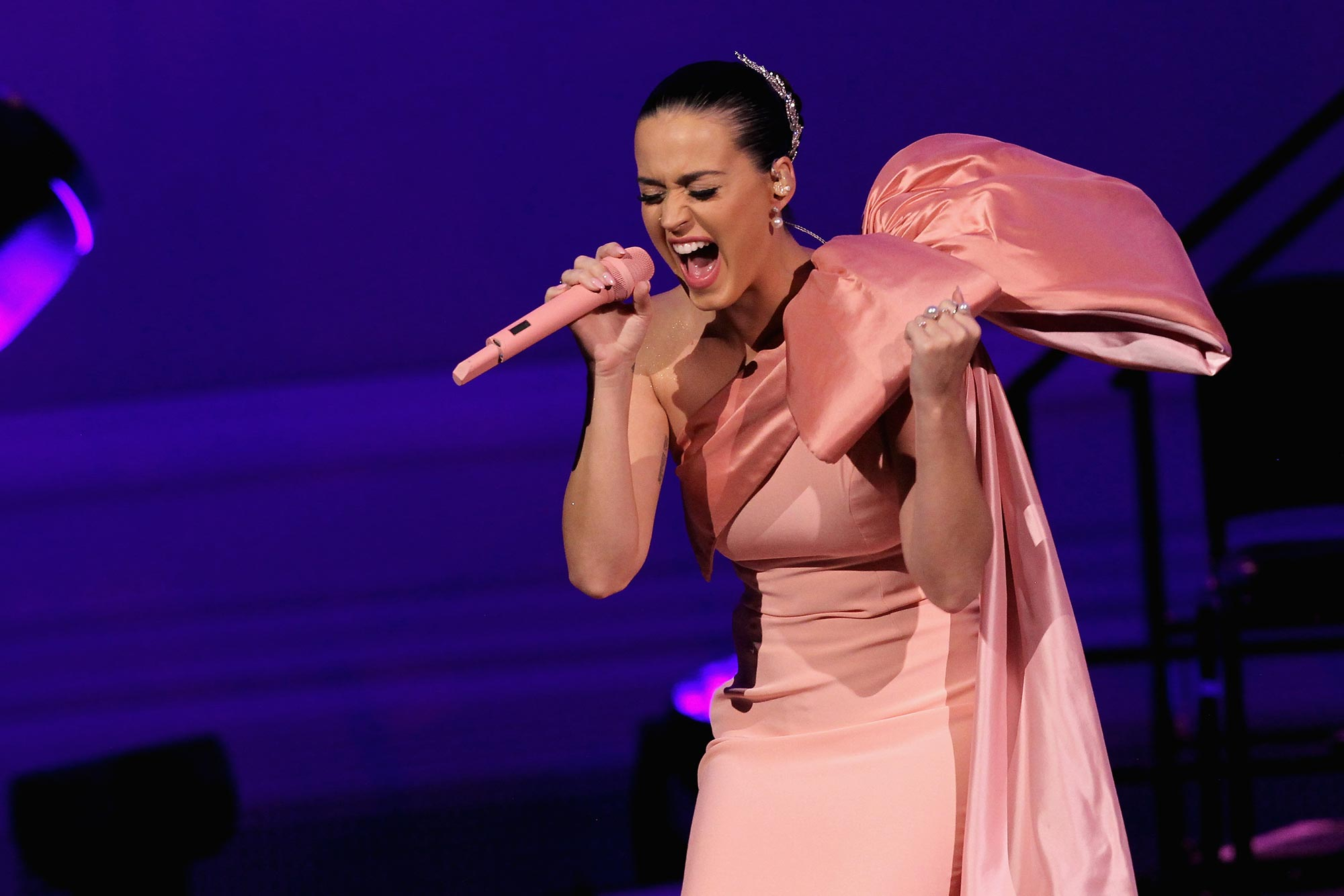 Katy Perry Performs at a David Lynch Foundation Event