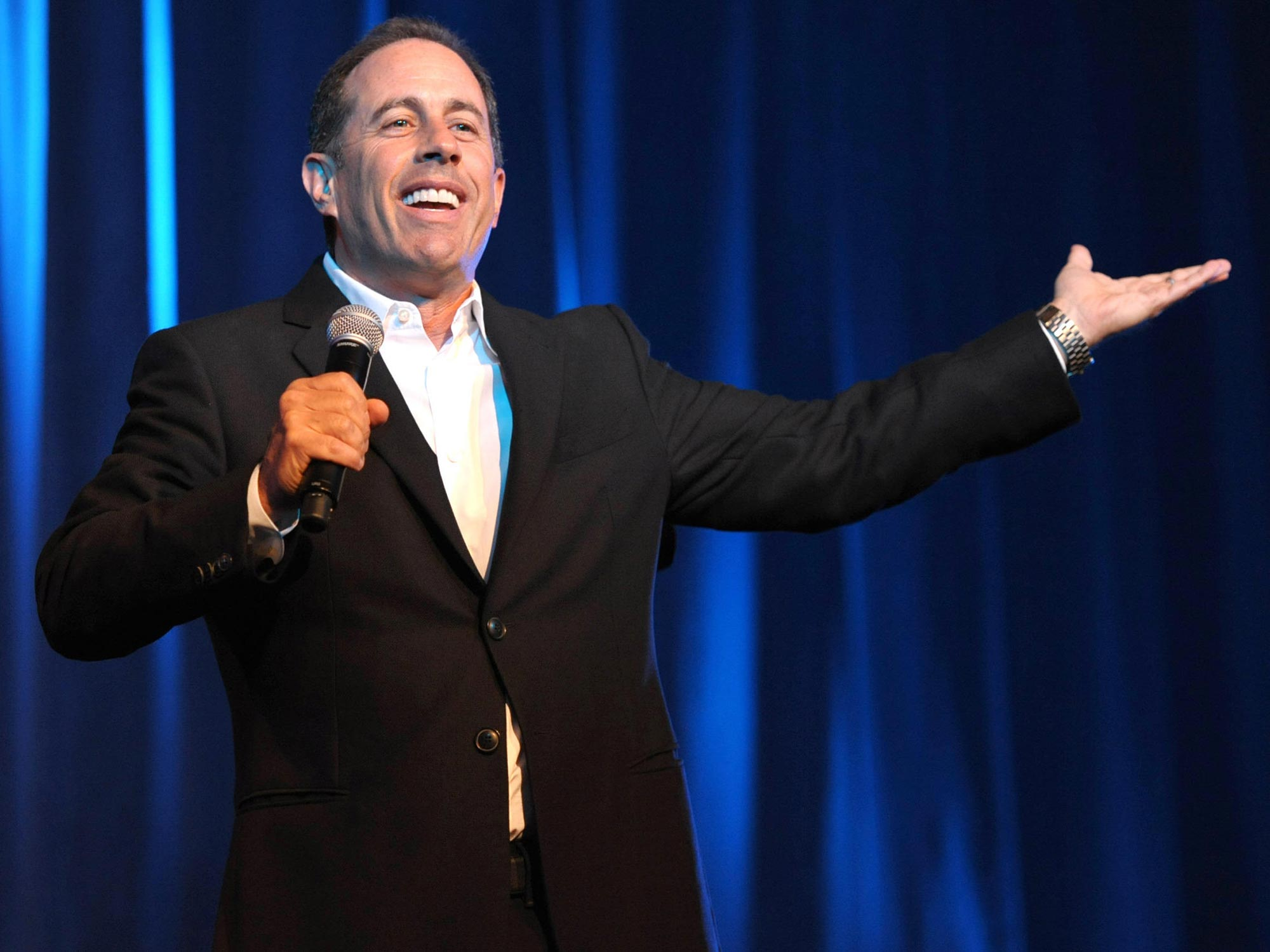 Jerry Seinfeld Performs at a David Lynch Foundation Event