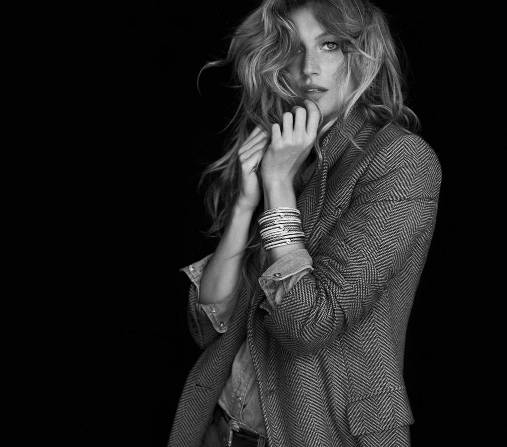Art Direction of model Gisele Bundchen for David Yurman