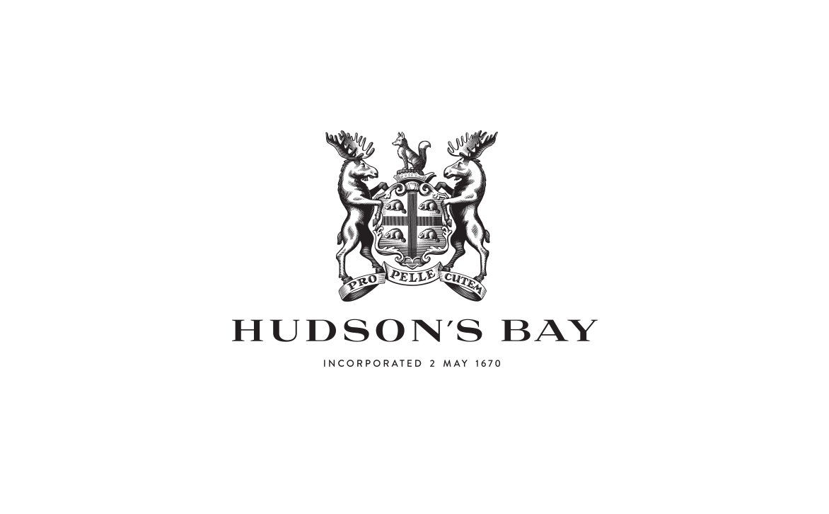 Logotype and Illustrated Crest Design for Hudson's Bay