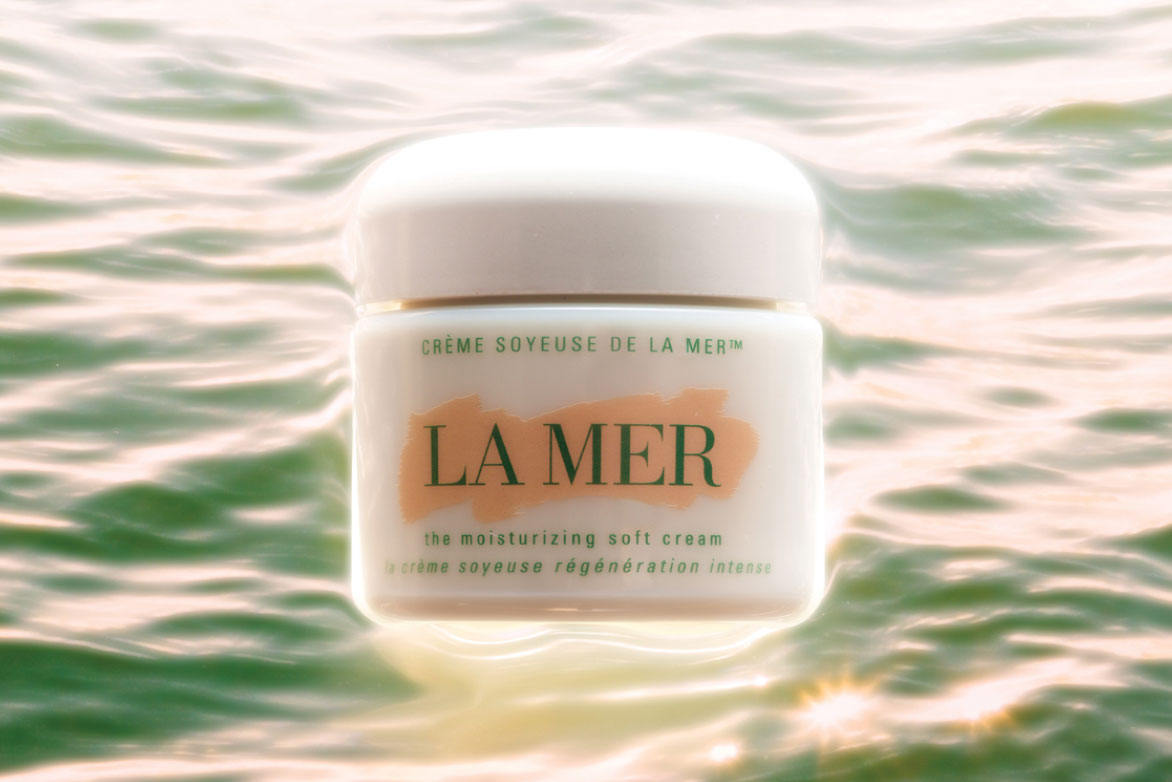 Campaign Image for La Mer, shot by Raymond Meier