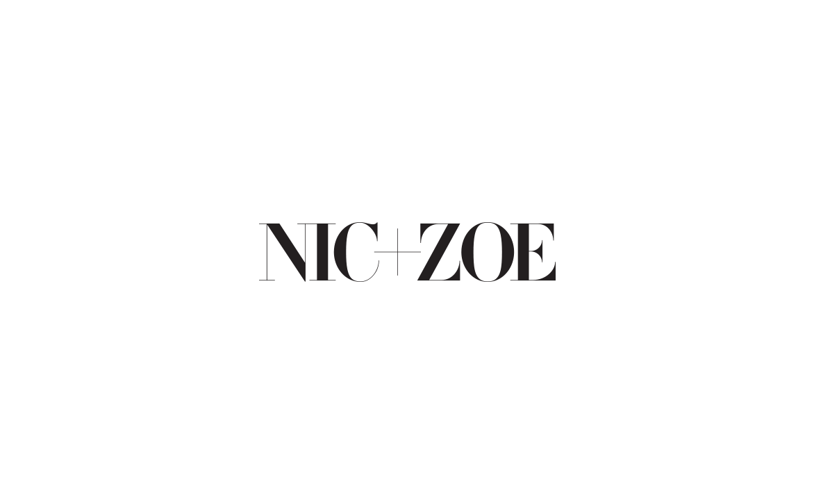 Logo Design for Nic+Zoe