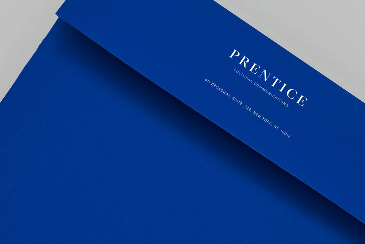Identity design for Prentice Cultural Communications