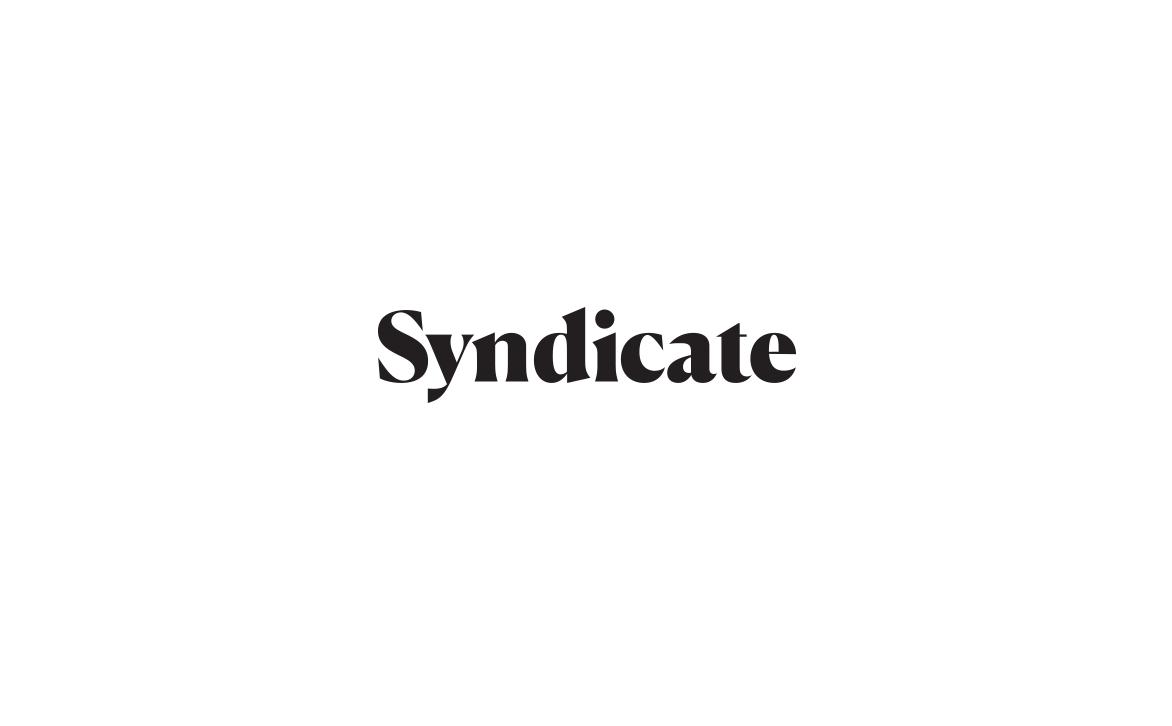 Logo Design for News App Syndicate