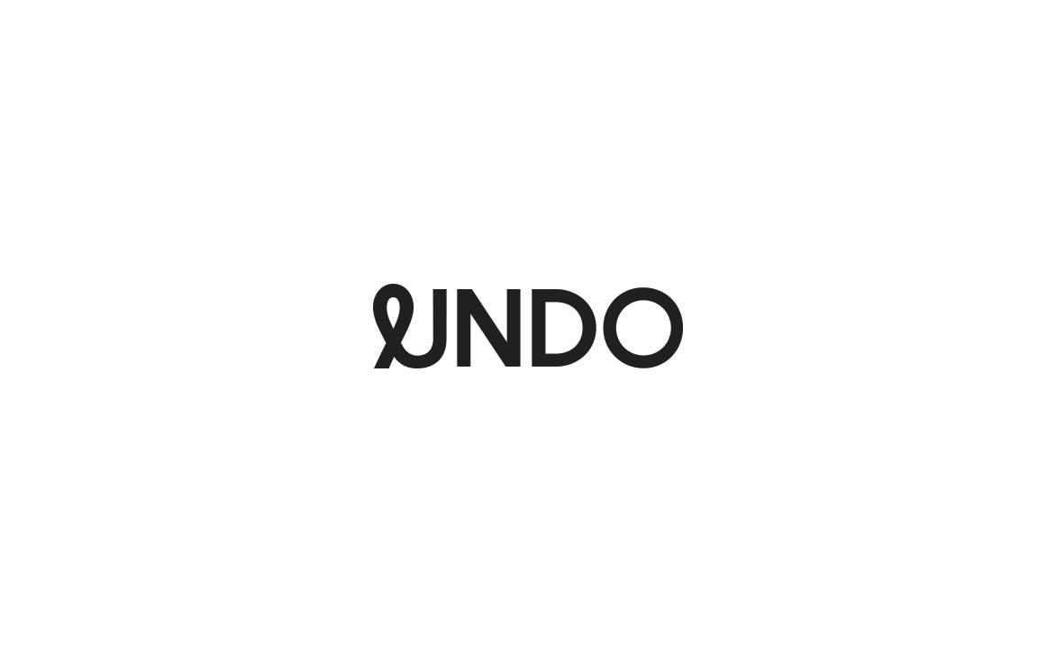 Identity Design for Undo, A Meditation and Mindfulness Company
