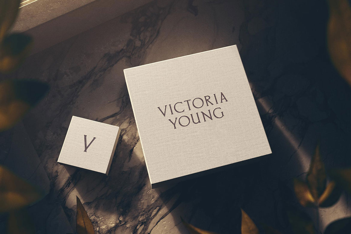 Packaging and Identity Design for Victoria Young